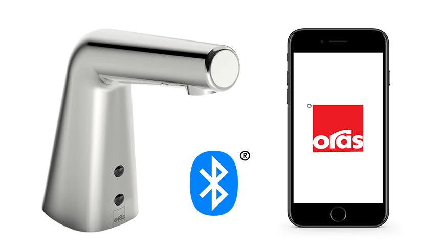 Use the Oras App to control and customize your faucets,