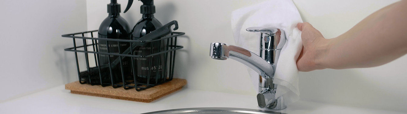 Faucet Cleaning