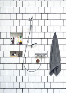 Oras Nova, Shower faucet with shower set, 7455