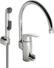 Oras Safira, Washbasin faucet with washing machine valve, 1034