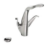 8225F | ALESSI Swan By Oras | Kitchen faucet with dishwasher valve, 230/12 V