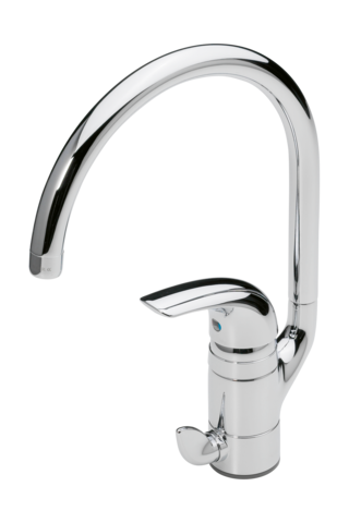 Oras Vienda, Kitchen faucet with dishwasher valve, 1739F