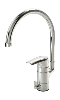 Oras Saga, Kitchen faucet with dishwasher valve, 1936F