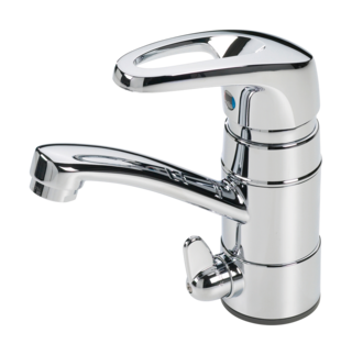 Oras Safira, Washbasin faucet with washing machine valve, 1013J-01
