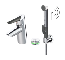 Oras Optima, Washbasin faucet, 3 V, 2715F