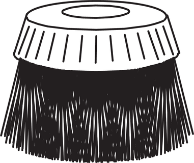 Oras, Brush part for spraying brush, 126065