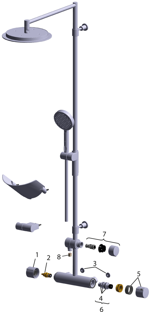 SP2893 Shower system