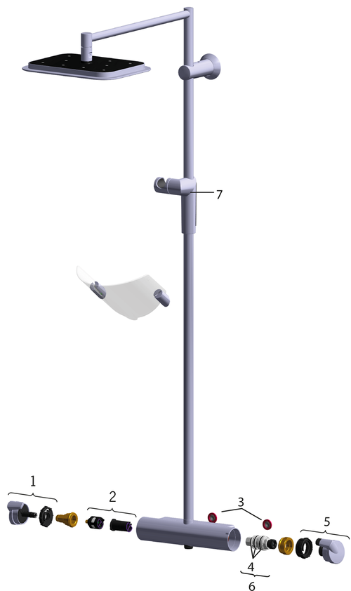 SP7157 Shower system