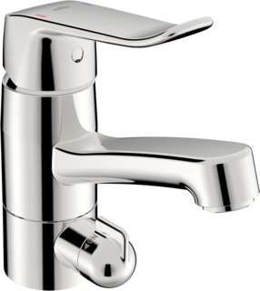 Oras Care, Washbasin faucet with washing machine valve, 5713F