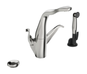 8227F | ALESSI Swan By Oras | Kitchen faucet with dishwasher valve, 230/12 V