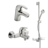 Oras Polara, Faucet set for bathroom, 1496
