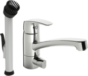 1027 | Oras Safira | Utility room faucet with dishwasher valve