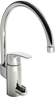 Oras Safira, Kitchen faucet with dishwasher valve, 1039