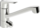 Oras Vega, Kitchen faucet with dishwasher valve, 1825G
