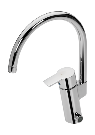 Oras Cubista, Kitchen faucet with dishwasher valve, 6 V, 2839F