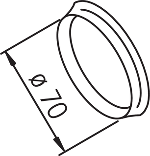 Oras, Sealing rings for cover plate, 203524/2