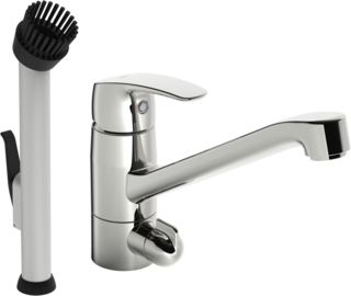 Oras Safira, Utility room faucet with dishwasher valve, 1027S