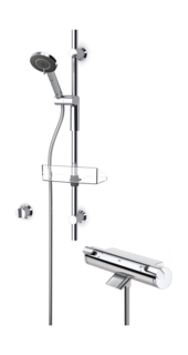 Oras Optima, Bath and shower faucet with shower set, 7149